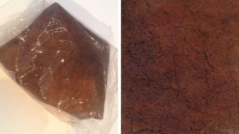 Close up images of the Dingle Dell Meteorite