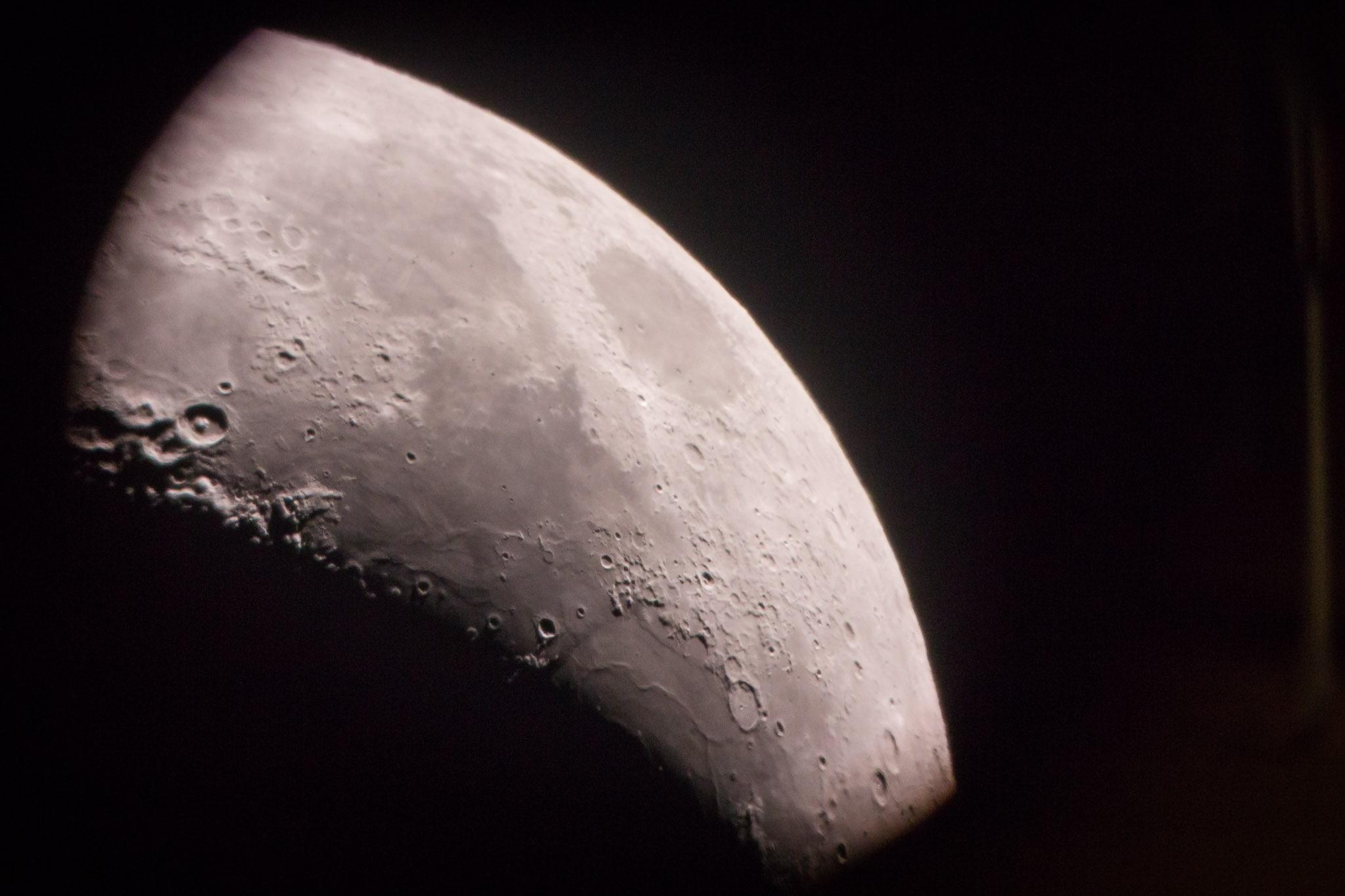 Star Gazers WA Moon sighting
