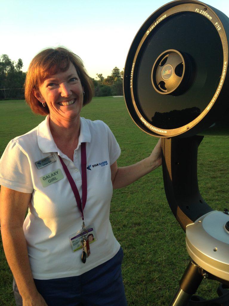 Carol Redford Stargazers Club WA founder