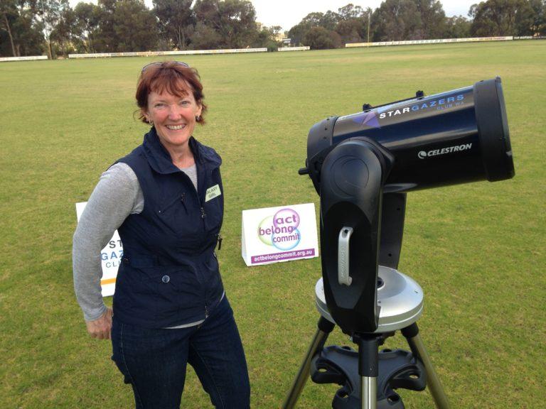 Carol Redford Celestron Telescope - Stargazers WA