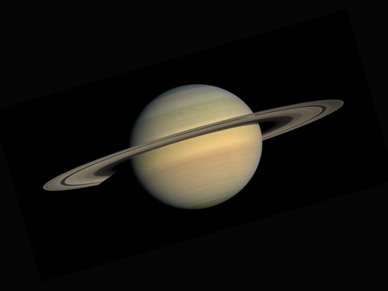 Read more about the article Saturn – The Ringed Giant of the Outer Solar System