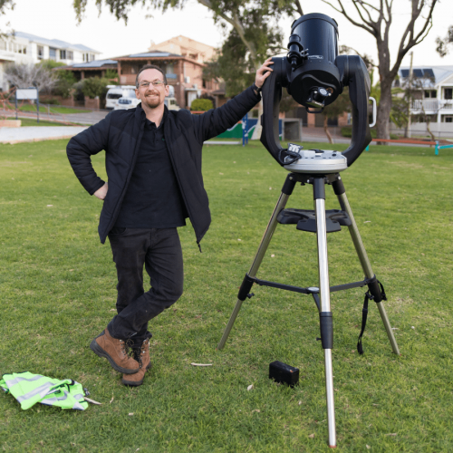 Mark Davies - Astronomy Educator - Earthside Astronomy